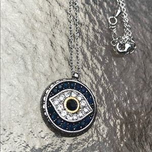 Evil eye necklace. For good luck &  protection.
